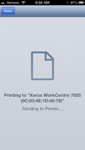 Printing Screen Shot