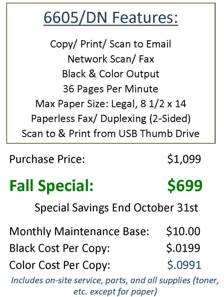 pricing and config Oct 2013