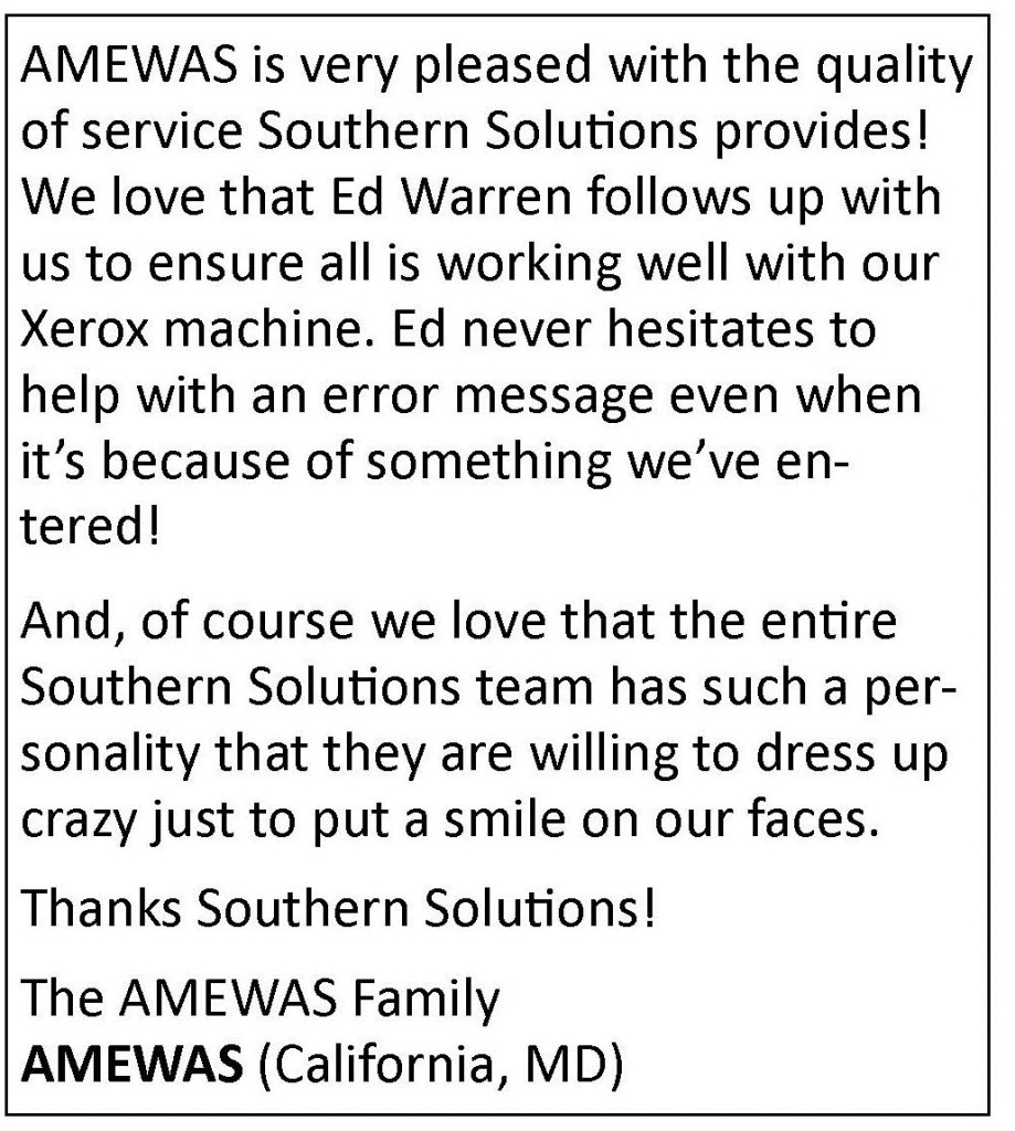 AMEWAS Quote