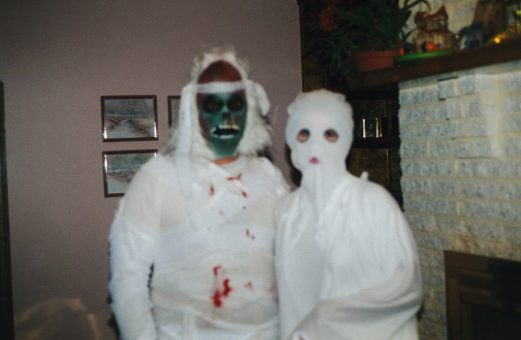Clay Mummy