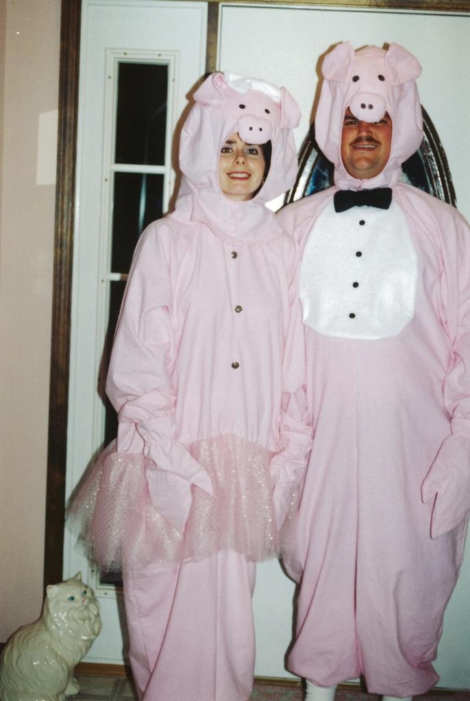 Clay bunnies