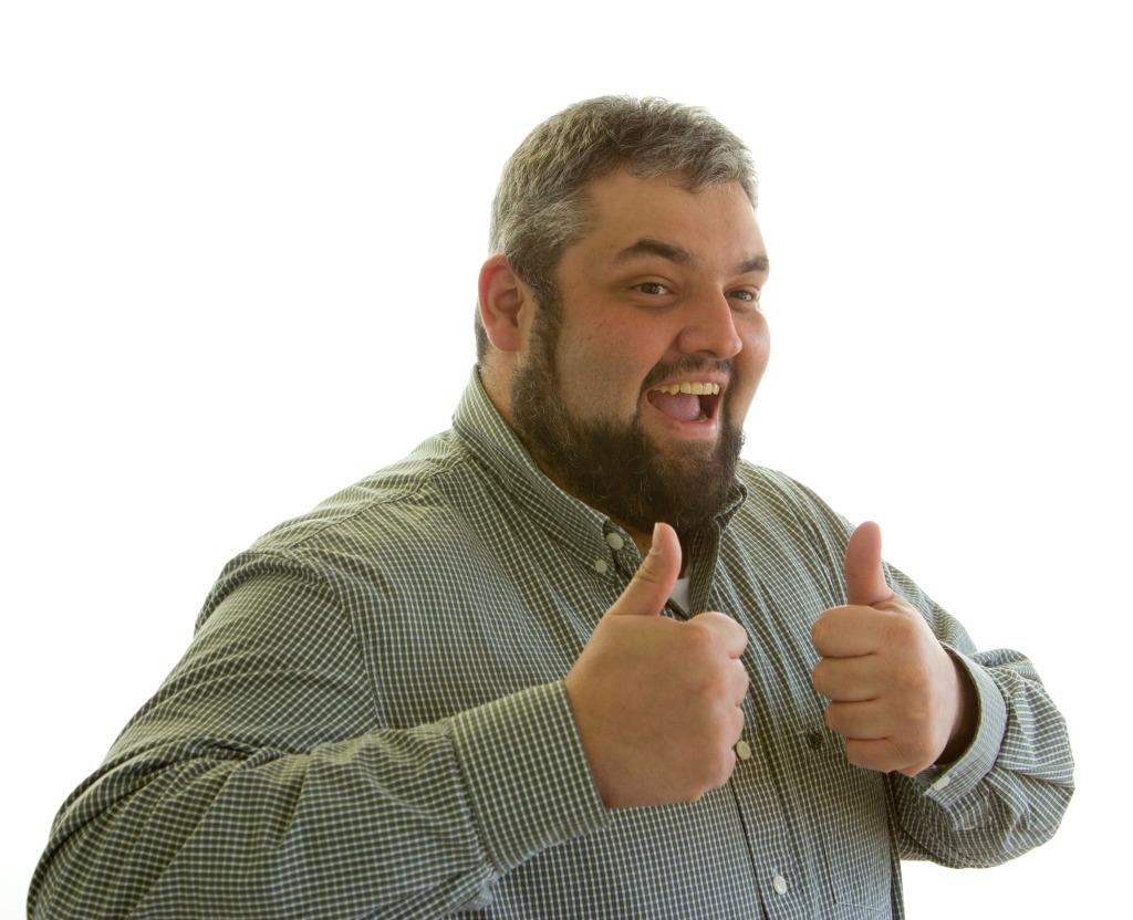 Joey Sandy Thumbs Up
