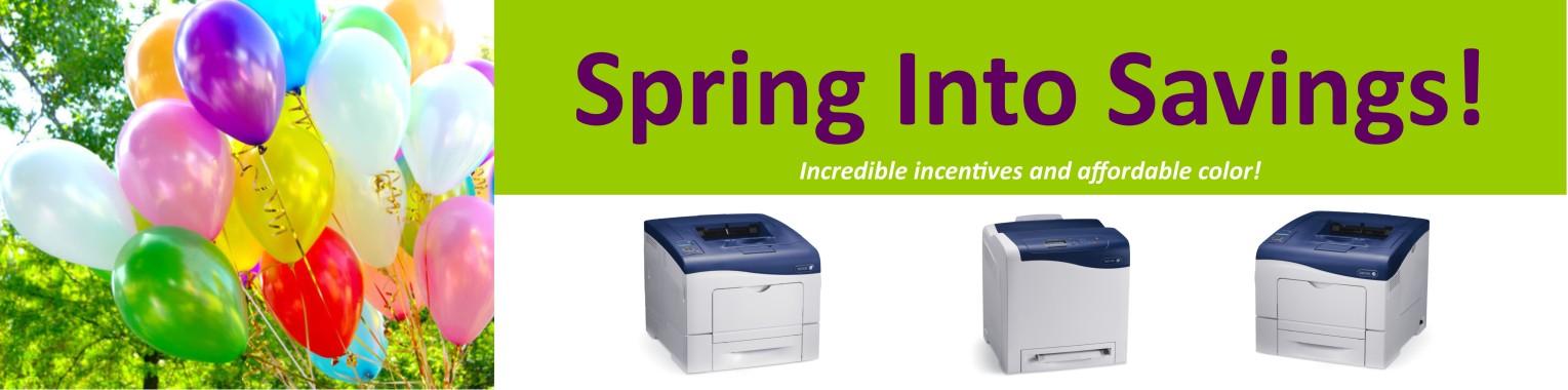 Spring Into Savings Printers 2015