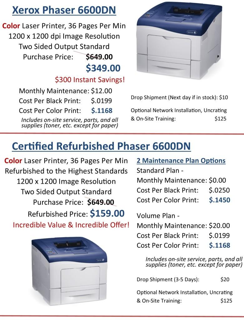 Winter Savings Color Printers 1.7