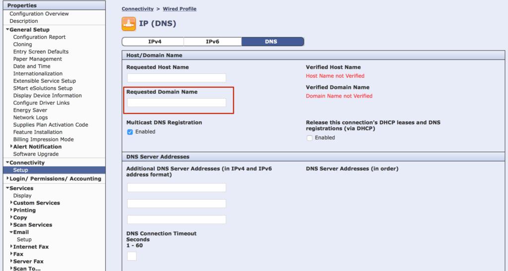 domain-web-interface