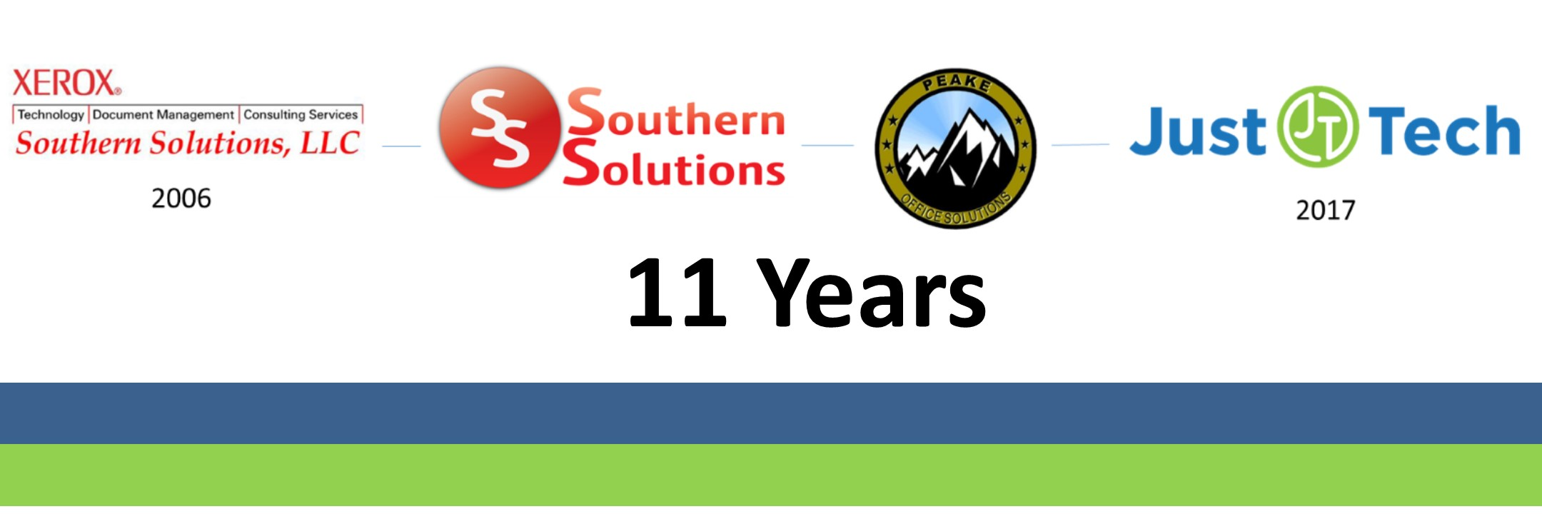Celebrating 11 Years of Growth • Just•Tech