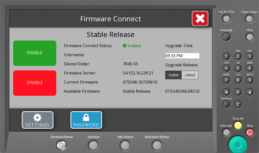 Firmware Connector App