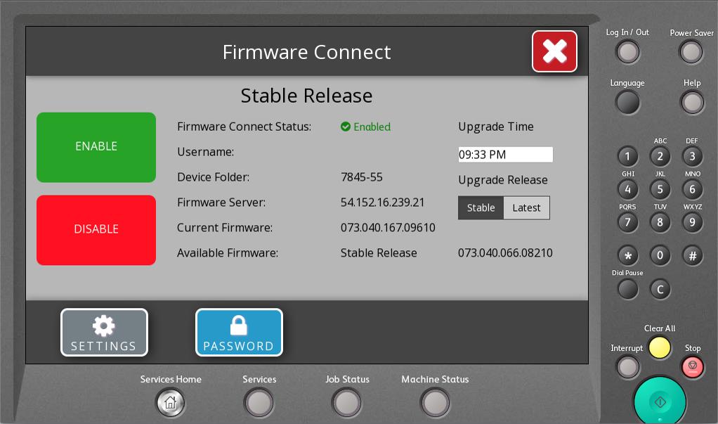 Firmware Connector App