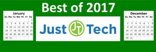 2017.12.27 Best of 2017 JustTech