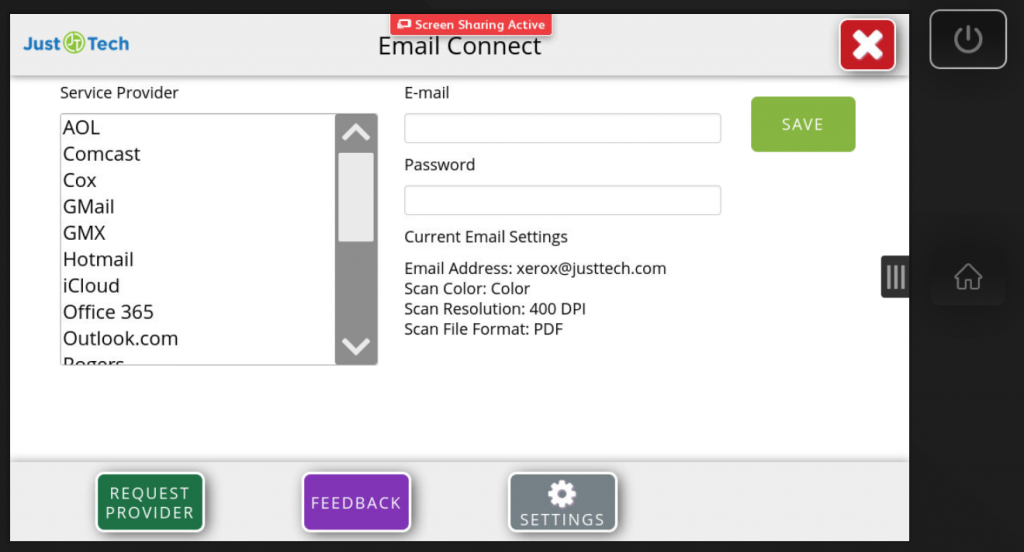 App Email Connect