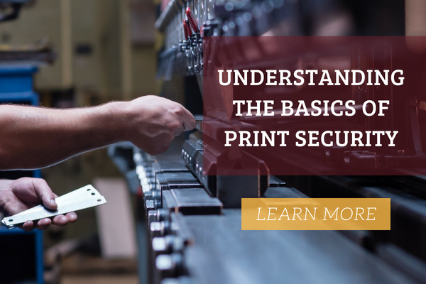 Understanding the basics of printing security