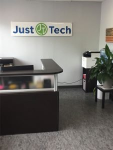 just tech front desk