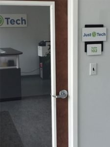just tech room
