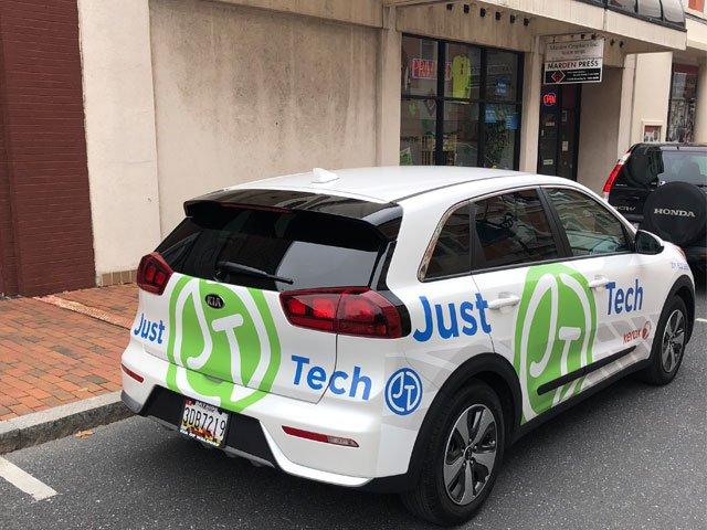 Just tech van