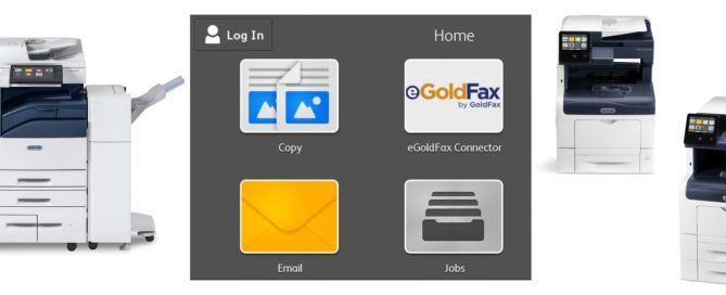 Gold Fax Printers and App